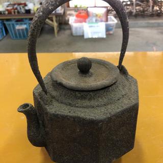 茶器☆鉄瓶☆八角形☆古民具☆レトロ