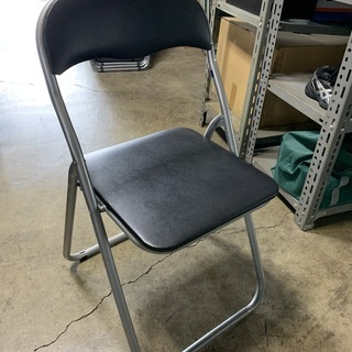 パイプ椅子4脚セット!ミーティングチェア 折り畳み パイプ 椅子 オフィス家具 会議 集会所 ③ H - 福井市