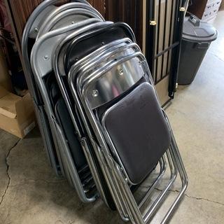 パイプ椅子 9脚セット!種類色々 ミーティングチェア 折り畳み ...