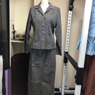 デニム ジャケット&スカート