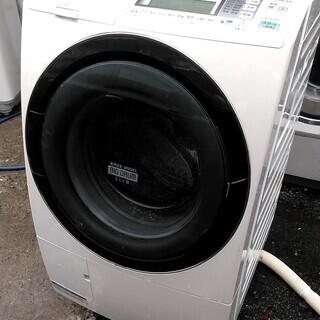 ドラム式洗濯機 ビッグドラム 大容量 風アイロン 日立