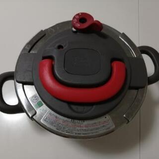 取引中 T-fal 圧力鍋 4L ティファール