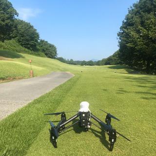 ドローンでゴルフ場の空撮!