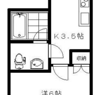 高円寺駅徒歩5分!!独立洗面台付き!!