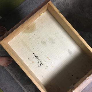 机 ブラウン 木製 丈夫です - 売ります・あげます