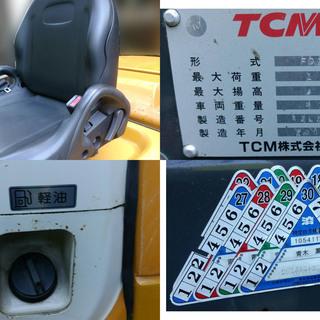 【中古】TCM フォークリフト ディーゼル2.5t FD25T7 − 長崎県