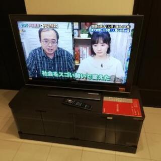 ソニーブラビア 40インチ液晶テレビ テレビ台つき 値下げ