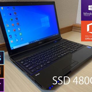 約10秒で起動!SSD・高スペックi7・ブルーレイ搭載☆Mオフィ...