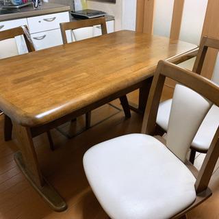 テーブル 椅子4脚 セット価格