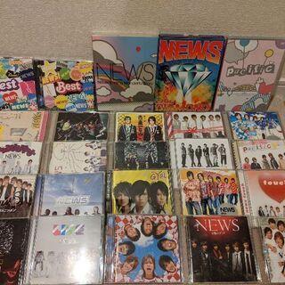 ジャニーズグッズ NEWS CD、DVDセット