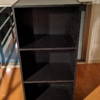 山善 カラーボックス、本棚 3段 GCB-3