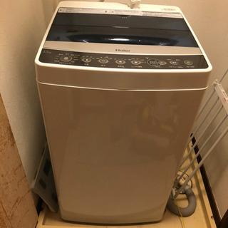 ハイアール 洗濯機 JW-C45A-K 5.5kg