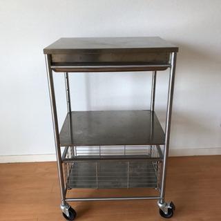 IKEA ステンレスワゴン キッチンワゴン