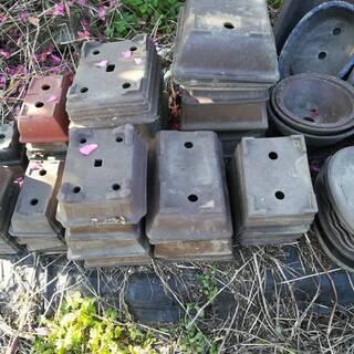 盆栽用・年代物・プランター・植木鉢・素焼き鉢 400個程度