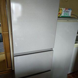 値下げしました♪日立の冷蔵庫2019年製・R-27KV・265L...