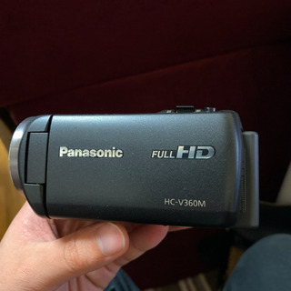 HC-V360M Panasonic SDカード、予備バッテリー付き