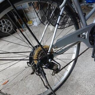 6段切り替えの自転車いりませんか。