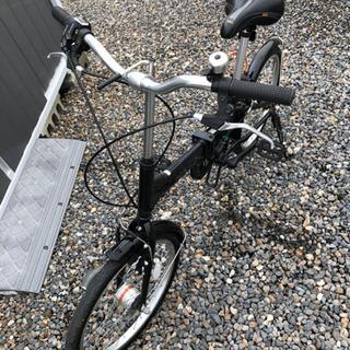 CAPTAIN STAG 折り畳み自転車20インチ - 安城市