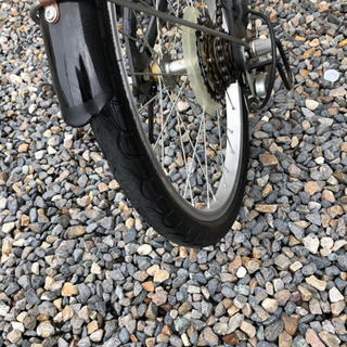 CAPTAIN STAG 折り畳み自転車20インチ − 愛知県