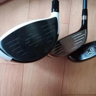 値下げ ゴルフウッドクラブセット ナイキゴルフバッグ付き - 売ります・あげます