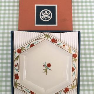 【値下げしました❗️】たち吉  六角和皿5枚組 【未使用品】