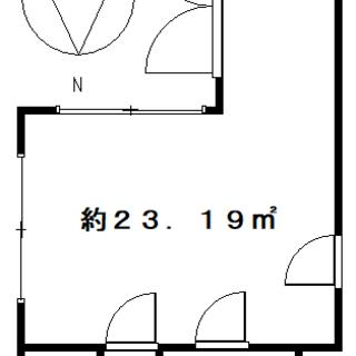 ★緑町にあるマンション1階店舗・6.5万円・スケルトン★