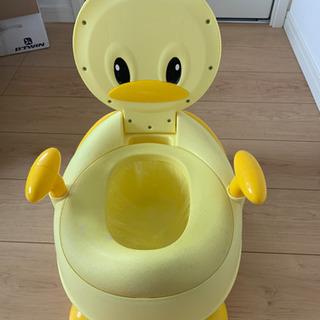 アヒル補助便座 トイレトレーニング おまる