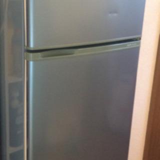 [急募]【無料】(中古)冷蔵冷凍庫 サンヨー 2ドア式 109ℓ...