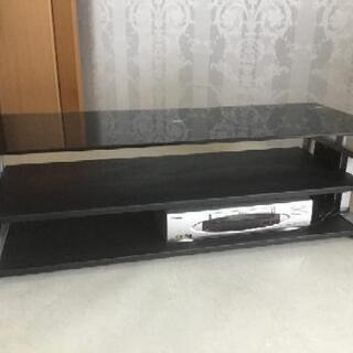 ガラストップテレビ台