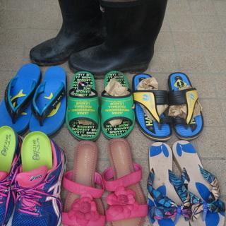 中古靴、長靴、サンダル 23-24,5cm