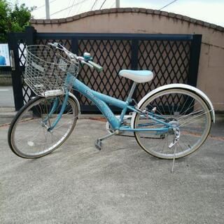 ジュニア自転車24インチ(女の子)