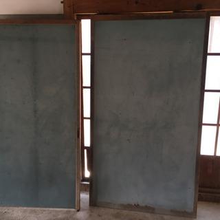 木製の枠?壁 - 福知山市