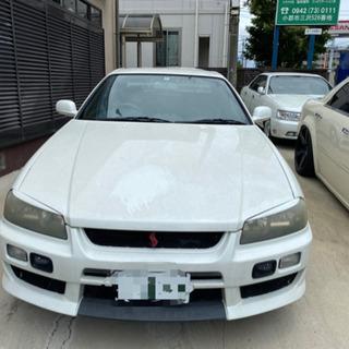 新入荷☆34スカイラインクーペ☆2ドアターボ☆RB25