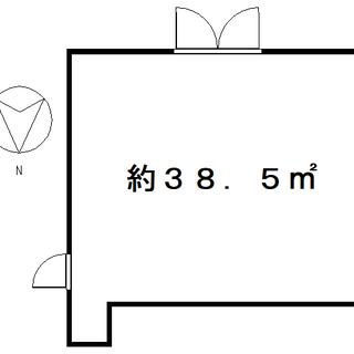 ★緑町にあるマンション1階店舗・8.5万円・スケルトン★