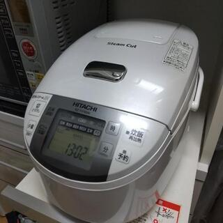 HITACHI炊飯器  5.5合  圧力&スチーム!!