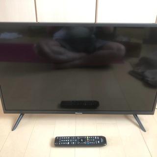 格安!取りに来てくれる方 2020年4月購入 Hisense 液晶テレビ 32H30E と 外付けハードディスク USB3.1対応 4TB MXシリーズ