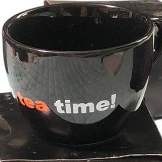 ティーカップ 黒 16個セット