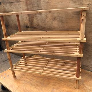お洒落な木製ラック 2セット☆