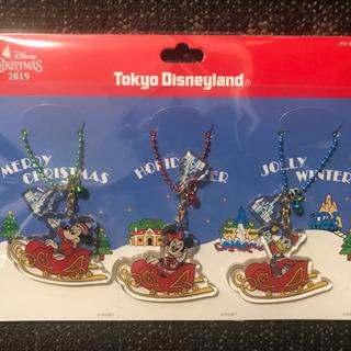 バックチャーム キーホルダー 2019年 クリスマス 東京ディズ...