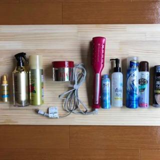梅雨の、真夏のヘアケア。アイロン、コテ、ヘアケアセット総額2万円前後
