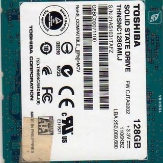 TOSHIBA 1.8インチ LIF  SSD  128GB