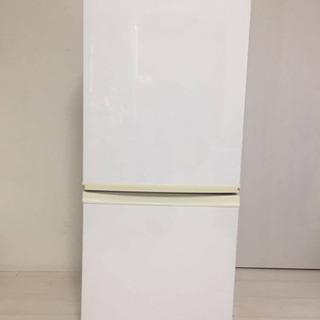 SHARP 冷蔵庫 SJ-D14A-W ホワイト