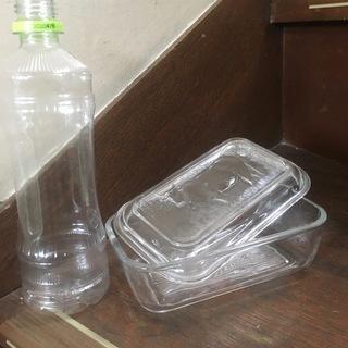 バターケース(ガラス製)の画像