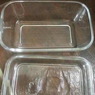 バターケース(ガラス製) - 生活雑貨