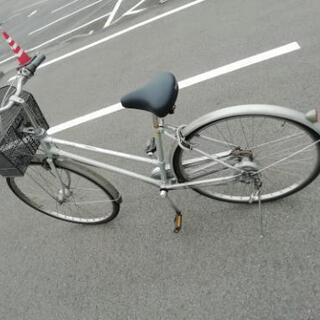 中古27インチ自転車