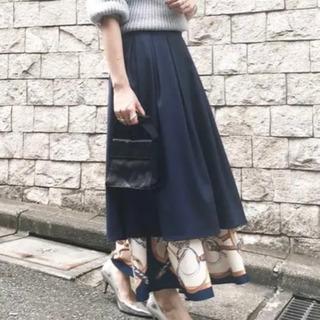 アメリヴィンテージ  スカーフ柄 スカート