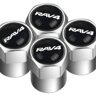 【新品】トヨタ RAV4 タイヤ エアバルブキャップ 4個