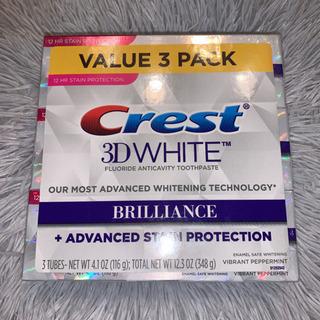 crest 3d white ホワイトニング歯磨き粉 3本SET