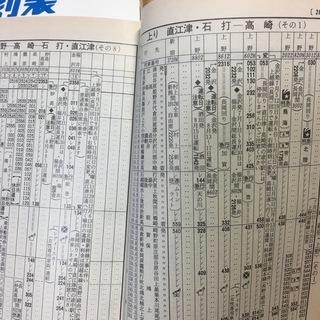 JR東日本版 94年夏 時刻表 − 千葉県