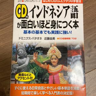 CD付インドネシア語が面白いほど身につく本